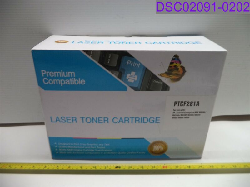 Premium Compatible Laser Toner Cartridge Black PTCF281A