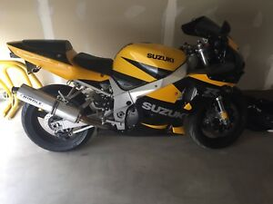 "SUZUKI GSX-R 750 ""REDUCED FOR QUICK SALE"""