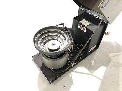 Cem Carlson Engineering C-50 Vibratory Bowl Screw Feeder System Screwfeed 2007