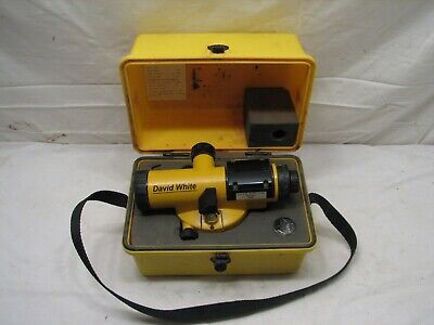 David White 22x Model 8883 Automatic Builders Auto Level Sight Tool Al8-22s