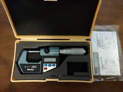Mitutoyo 293-732 Digital Tube Micrometer With Spc Output .00005.001mm