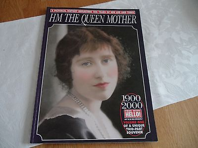 HELLO MAGAZINE  HM THE QUEEN MOTHER SOUVENIR MAGAZINE VOL 1  COLLECTABLE EXC CON
