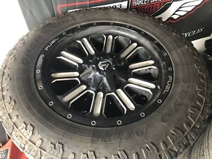 Fuel Hardline rims with Toyo open country AT2 tires