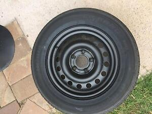 4 brand new tyres on commodore chasers (5x120 stud pattern) Belconnen Belconnen Area Preview