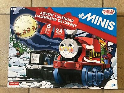 Fisher Price Thomas and Friends Minis 2017 Christmas Advent Calendar-RARE--New!