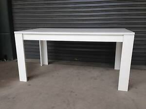 LARGE DINING TABLE WORK BENCH WORKBENCH - WHITE MELAMINE Strathfield Strathfield Area Preview