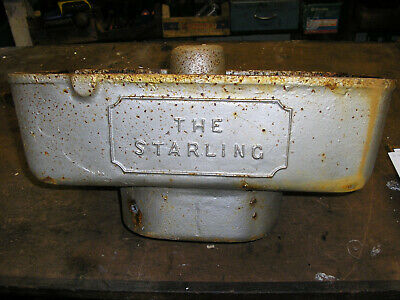 The Starling vintage cast iron toilet cistern