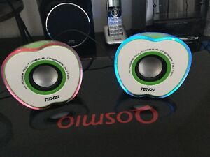 Tenzi Computer Speakers with LED lighting