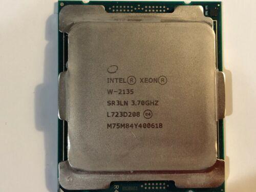 INTEL XEON W-2135 3.7GHz 8.25M 6 CORES 140W SR3LN CPU Processor