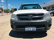 2008 TOYOTA HILUX WORKMATE TGN16R 07 UPGRADE C/CHAS 2.7L INLINE 4 Victoria Park Victoria Park Area Preview