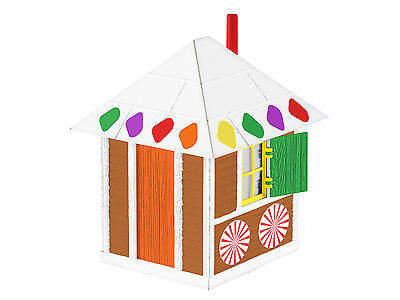 LIONEL 6-82708 CHRISTMAS GINGERBREAD SHANTY TRAIN LAYOUT ACCESSORY O GAUGE CANDY for sale  Shipping to Canada