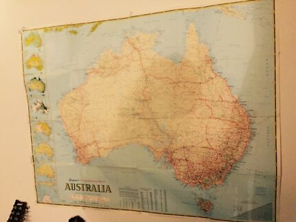Game of thrones map and map markers brand new collectables large australia map gumiabroncs Gallery