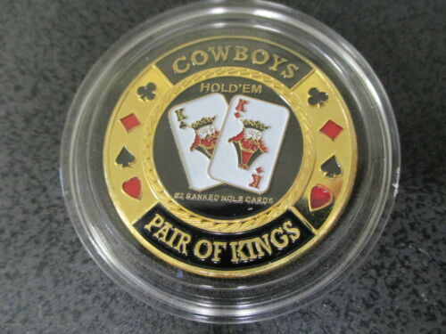 Cowboys Pair of Kings Hold