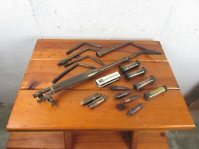 Harris Calorific Model 12 Torch Set 14 Tips And Parts Usa Great Lot