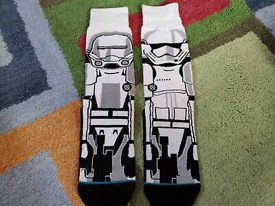 Stance Star Wars Socks - Stormtrooper - The Force Awakens - Size Large