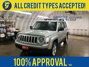 2011 Jeep Patriot NORTH*4WD*SUNROOF*ALLOYS*ROOF RACK*BOSTON AUDI