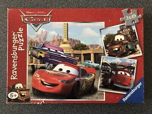 Disney Pixar Cars – Box of 3 Puzzles