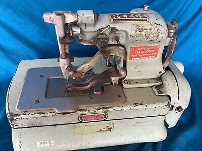 Reece Buttonhole Machine S2-bh 14 To 1-14 Industrial Sewing Machine