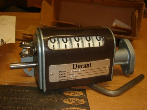 NOS Durant Stroke Counter 5-H-1-4-R 1.1 Ratio Serial Number 879 FREE SHIPPING AR