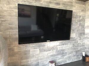 2 télévisions à vendre wallmount inclus