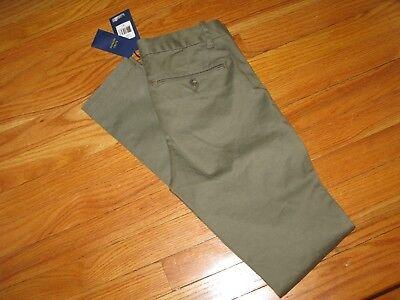 Ralph Lauren Polo Brooke Skinny Chino Khaki Pant Olive Green size (Polo Ralph Lauren Skinny Brooke Chino Pant)