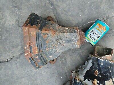 Antique cast iron rainwater hopper x2