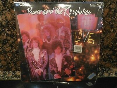 Syracuse Revolution - Prince The Revolution Live Syracuse NY 1985 March 30 Pioneer Artists Laserdisc