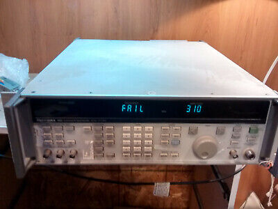 Giga-tronics 6082a Synthesized Rf Signal Generator 100 Khz To 2112mhz Option 132