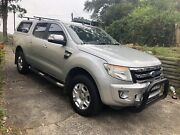 2012 Ford Ranger XLT Lisarow Gosford Area Preview