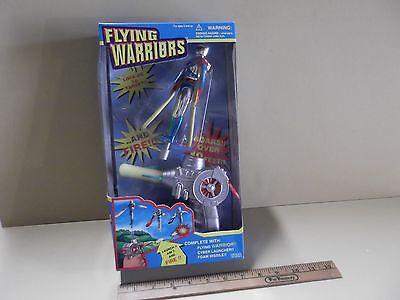 Collectible Flying Warriors Flys Over Ten Feet Launch,Aim & Fire Tara Toys 1995 - Fire Flys