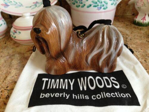 Timmy Woods Lhasa Apso or Shih Tzu Handbag, Purse with Bag