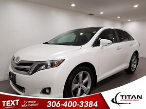 2016 Toyota Venza Limited AWD CAM NAV Leather