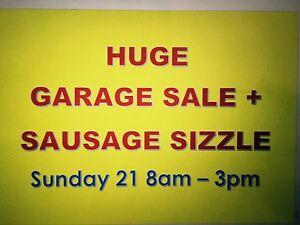 SAUSAGE SIZZLE AND HUGE GARAGE SALE Turramurra Ku-ring-gai Area Preview