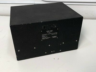 William Miller Hp 2 Power Supply For Photographic Recording Oscillograph Model H