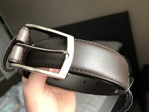 Brand new brown leather belt size 38-40