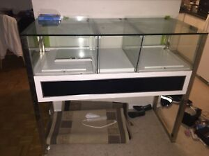 CHEAP**Glass display Showcase(Needs little work)
