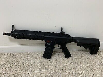 HK 416 Airsoft AEG, Battery, Charger, BB's, And Strap