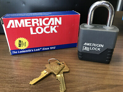 American Lock A5200cov Keyed Padlock Kd With Weatherbuilt Cover