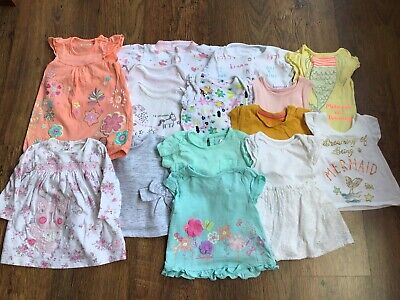 Baby Girl 0-3 Months Clothes Bundle - Spring/Summer