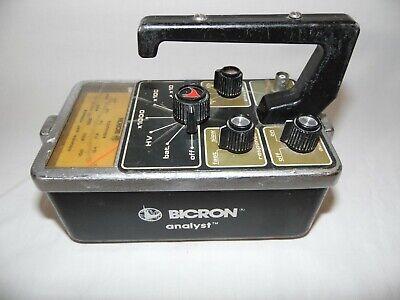 Bicron Analyst Radiation Detection Equipment 11232004 9410001 Rev D