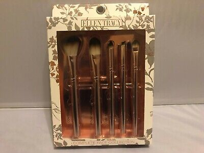 Ellen Tracy Complete Face Brush Collection  - new - boxed