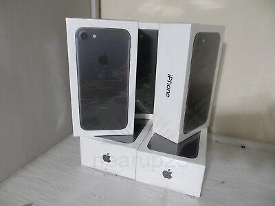 "Sealed Apple iPhone 7 - 128GB Black (Unlocked) A1778 (GSM) LTE 4.7"" HD 12MP NEW"