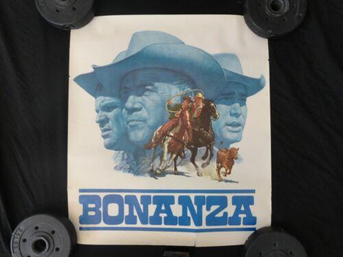 VINTAGE BONANZA WESTERN TV TELEVISION SERIES SHOW POSTER 60