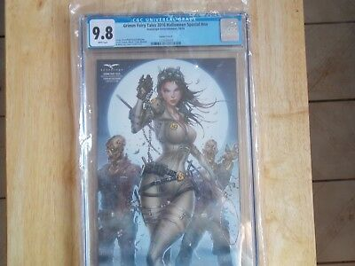 GRIMM FAIRY TALES 2016 HALLOWEEN SPECIAL # nn CGC 9.8 VARIANT COVER - E Halloween Special