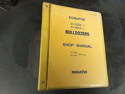 Komatsu D150a-1 D155a-1 Bulldozers Shop Manual