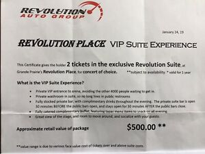VIP Suite Experience