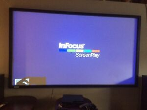 Projector, Screen & Receiver for sale