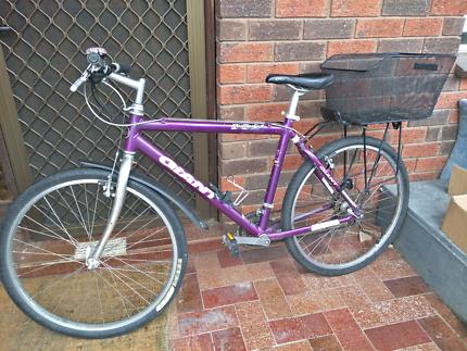 Bike + U lock + lights