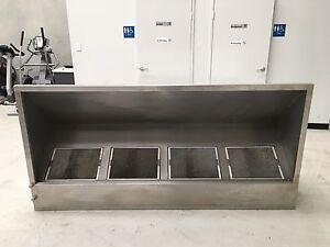 Commercial stainless steel Range Hood Jandakot Cockburn Area Preview