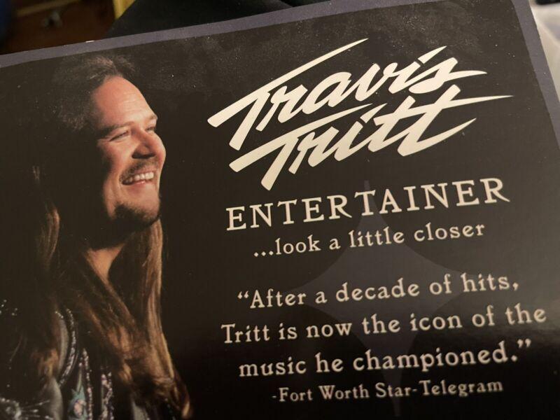 Travis Tritt Collectible Promo Record Store Poster @7
